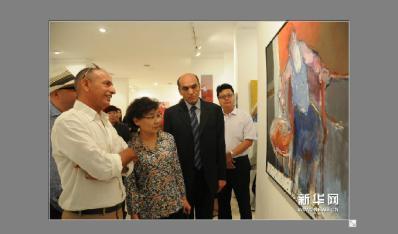 突尼斯举办中国主题油画展