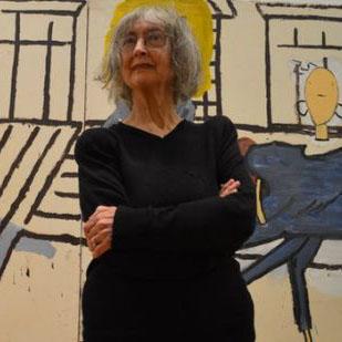 80岁女艺术家赢约翰·摩尔斯绘画奖