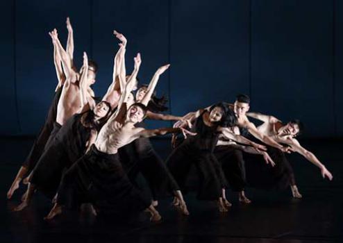 现代舞《三位一体》